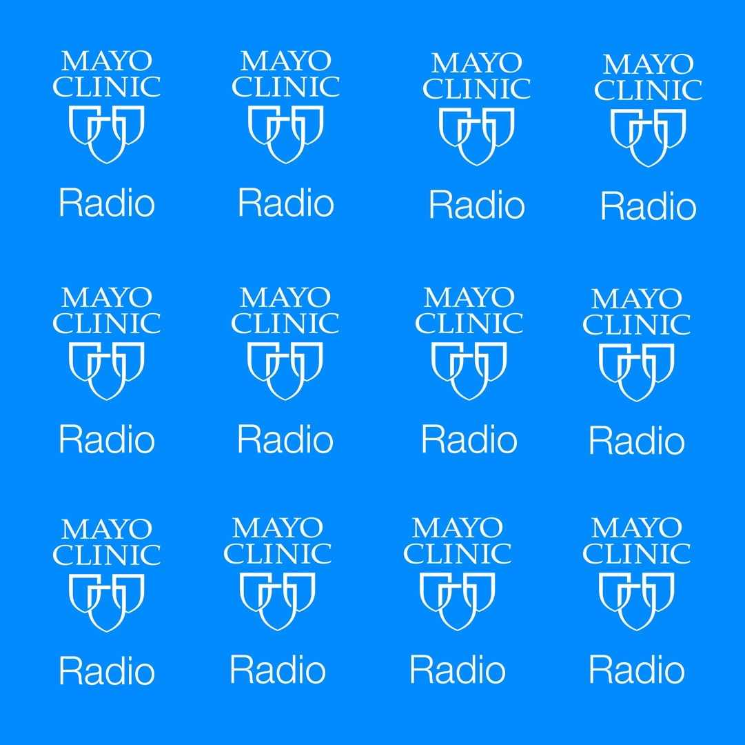Mayo Clinic Radio logo banners