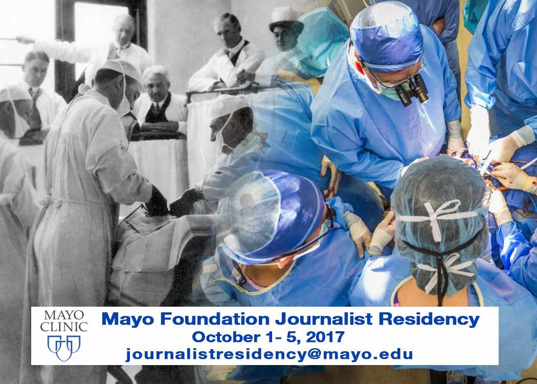 Mayo Foundation Journalist Residency graphic