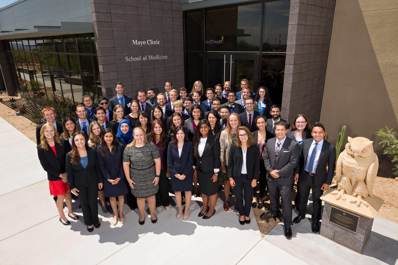 Mayo Clinic School of Medicine Arizona campus's first class