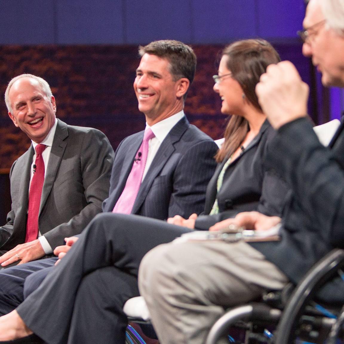 speaking panel at Transform 2016 session
