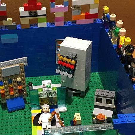 In the Loop Lego design of an ICU