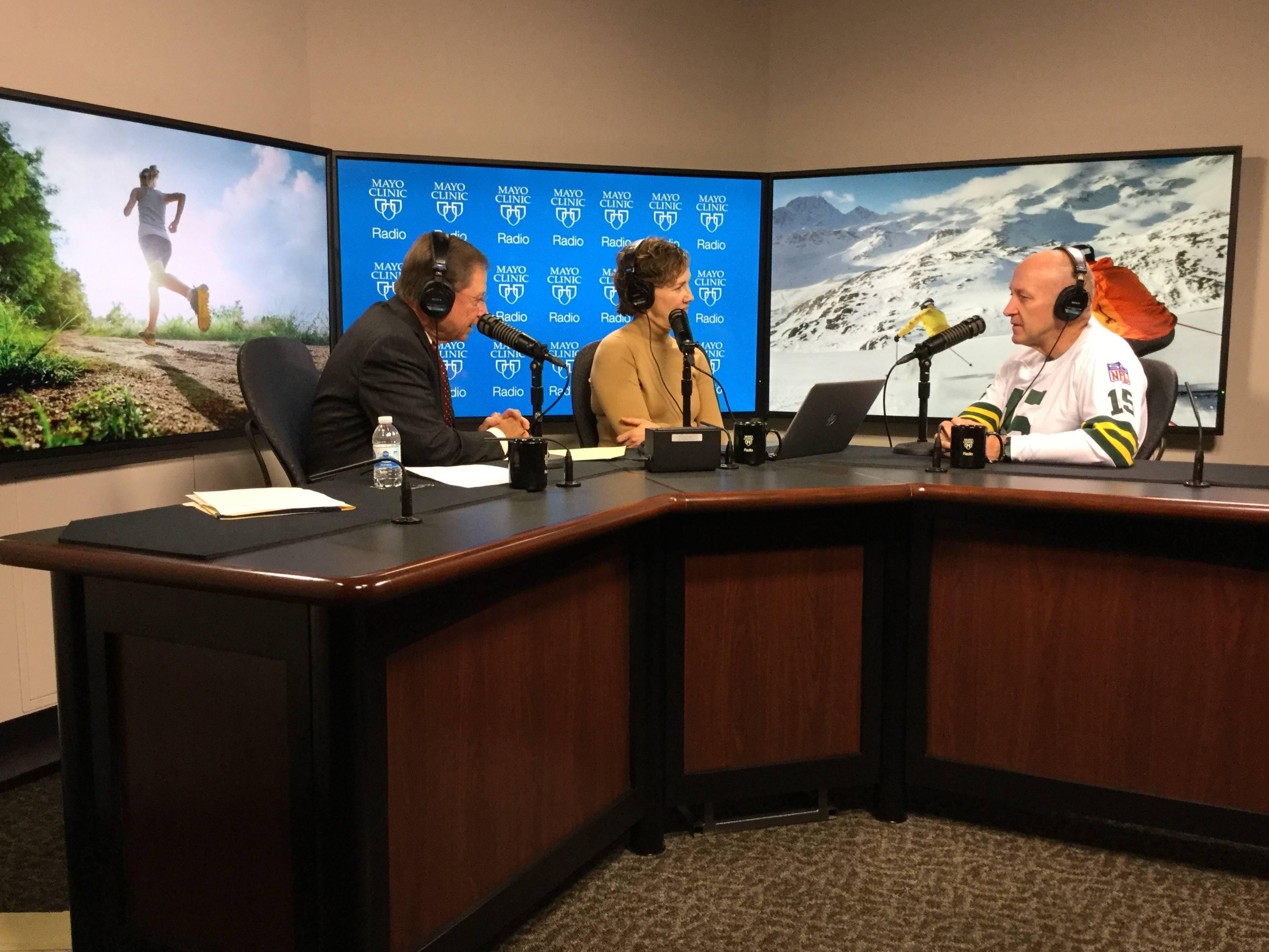 Dr. Michael Joyner being interviewed on Mayo Clinic Radio