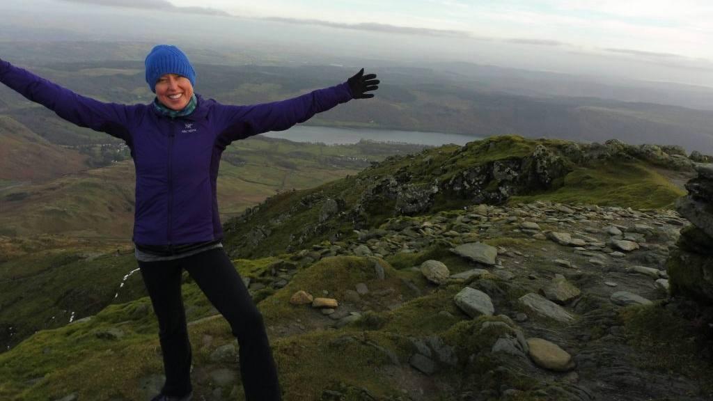 first big hike after chemotherapy 2 - cancer and integrative medicine patient Jennifer Deaderick
