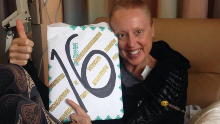 week 16 of chemo with cancer and integrative medicine patient Jennifer Deaderick