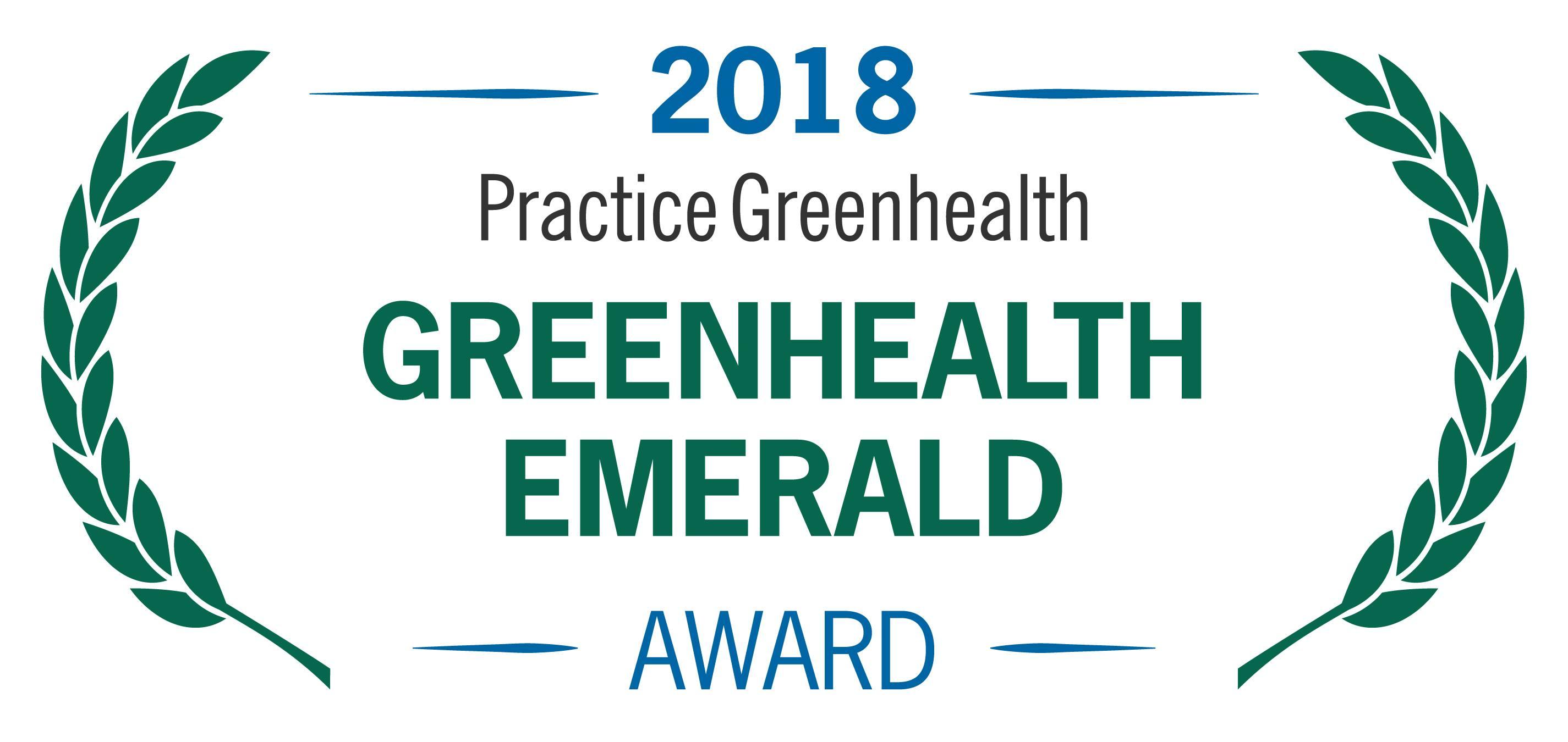 2018 Practice Greenhealth Emerald Award
