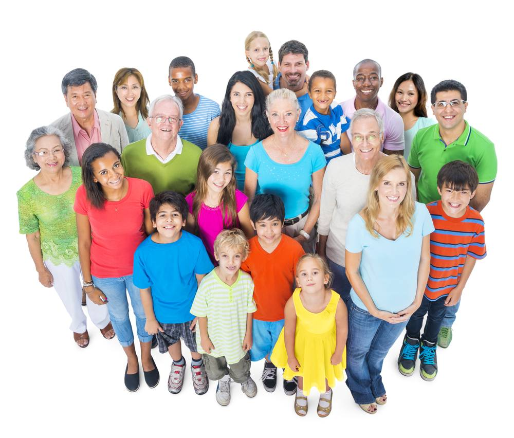 Diverse and Multi-ethnic People
