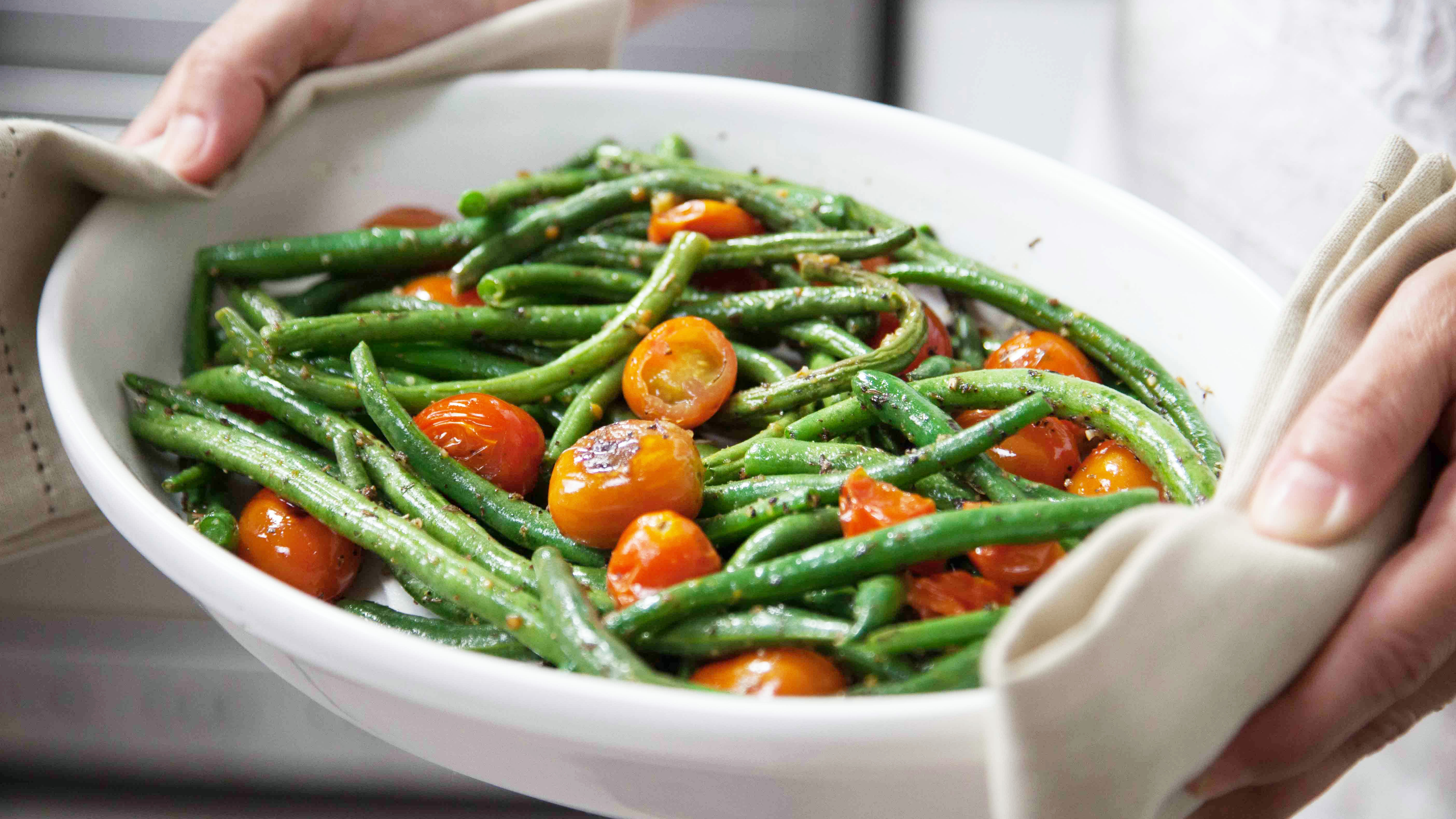roasted green beans for Making Mayo's Recipes