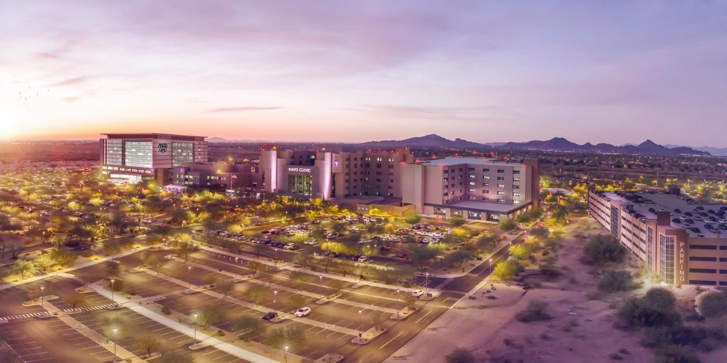illustration of Scottsdale campus of Mayo Clinic expansion