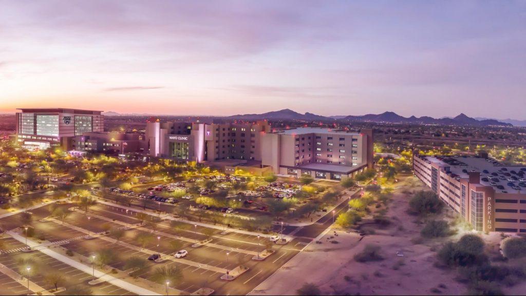 Ilustración de la ampliación de la sede de Mayo Clinic en Phoenix