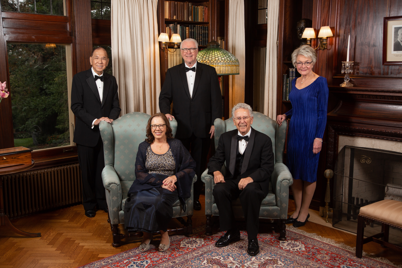 2018 Distinguished Alumni Awards: Robert Avant, M.D., C. Terrence Dolan, M.D., Judith Kaur, M.D., Vanda Lennon, M.D., Ph.D., and Chung Owyang, M.D.