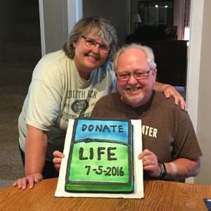In the Loop patient Tim Fairclough and his wife Kari