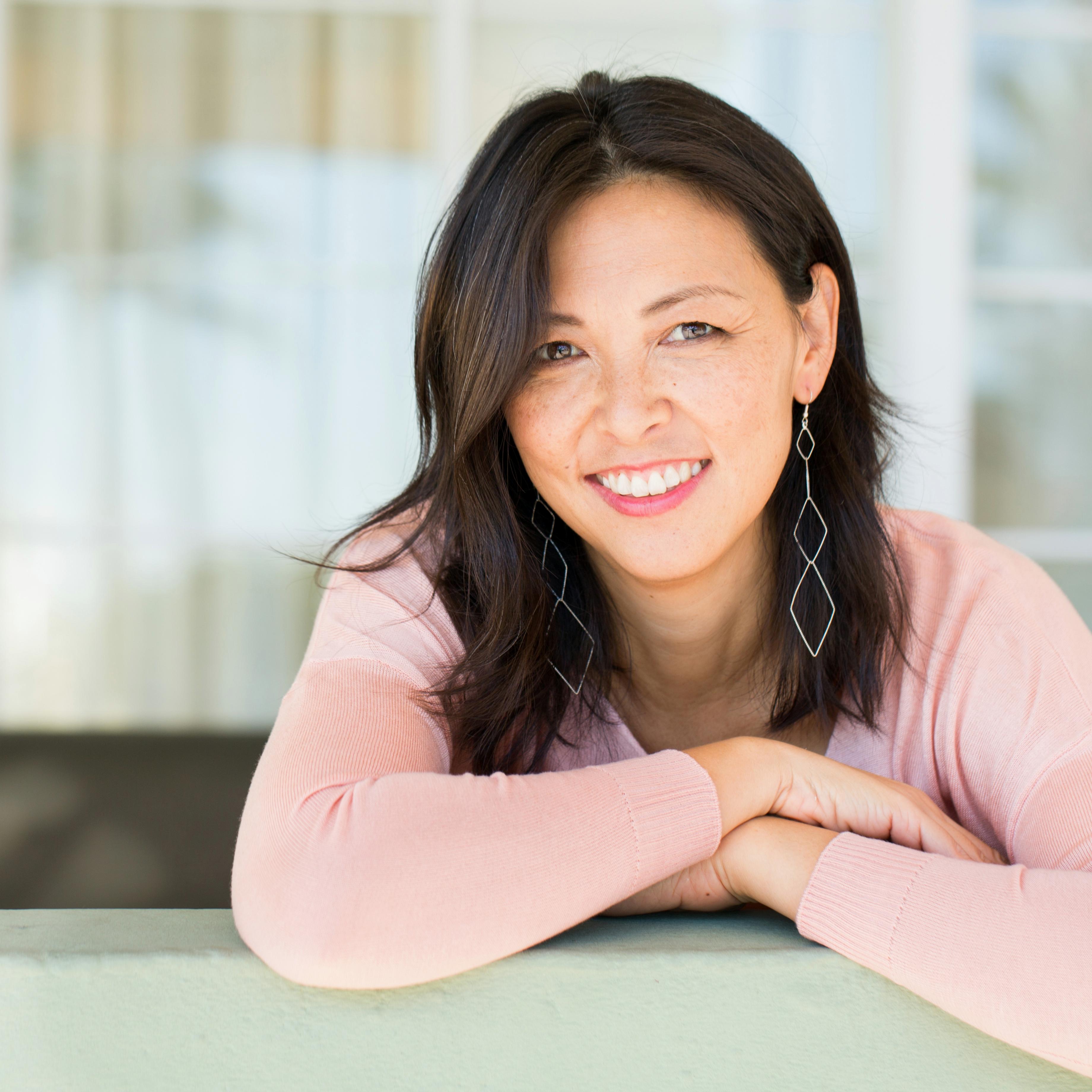 Portrait of middle-age woman