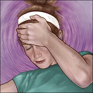 a medical illustration of orthostatic hypotension