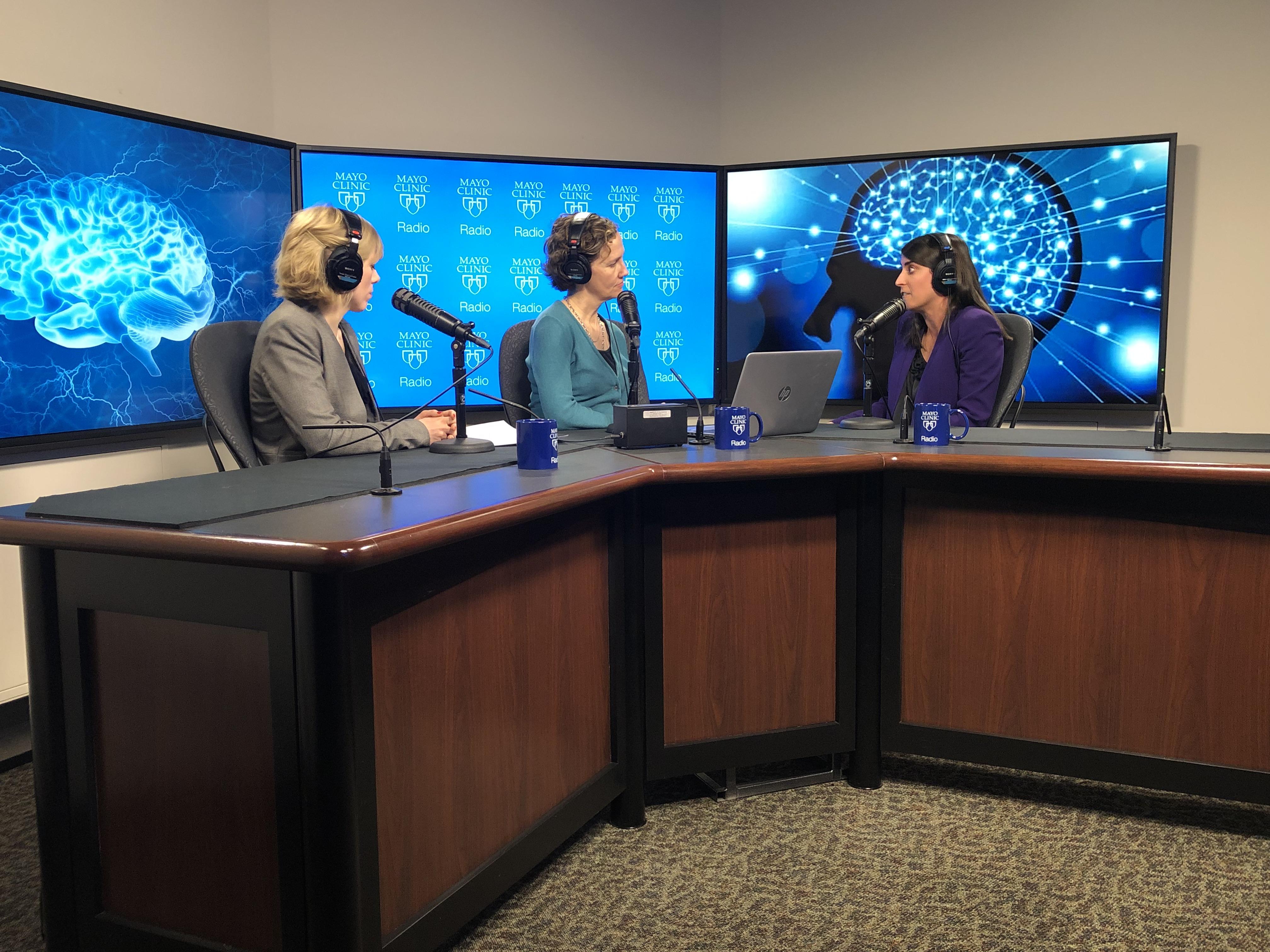 Dr. Jennifer Martinez-Thompson on Mayo Clinc Radio