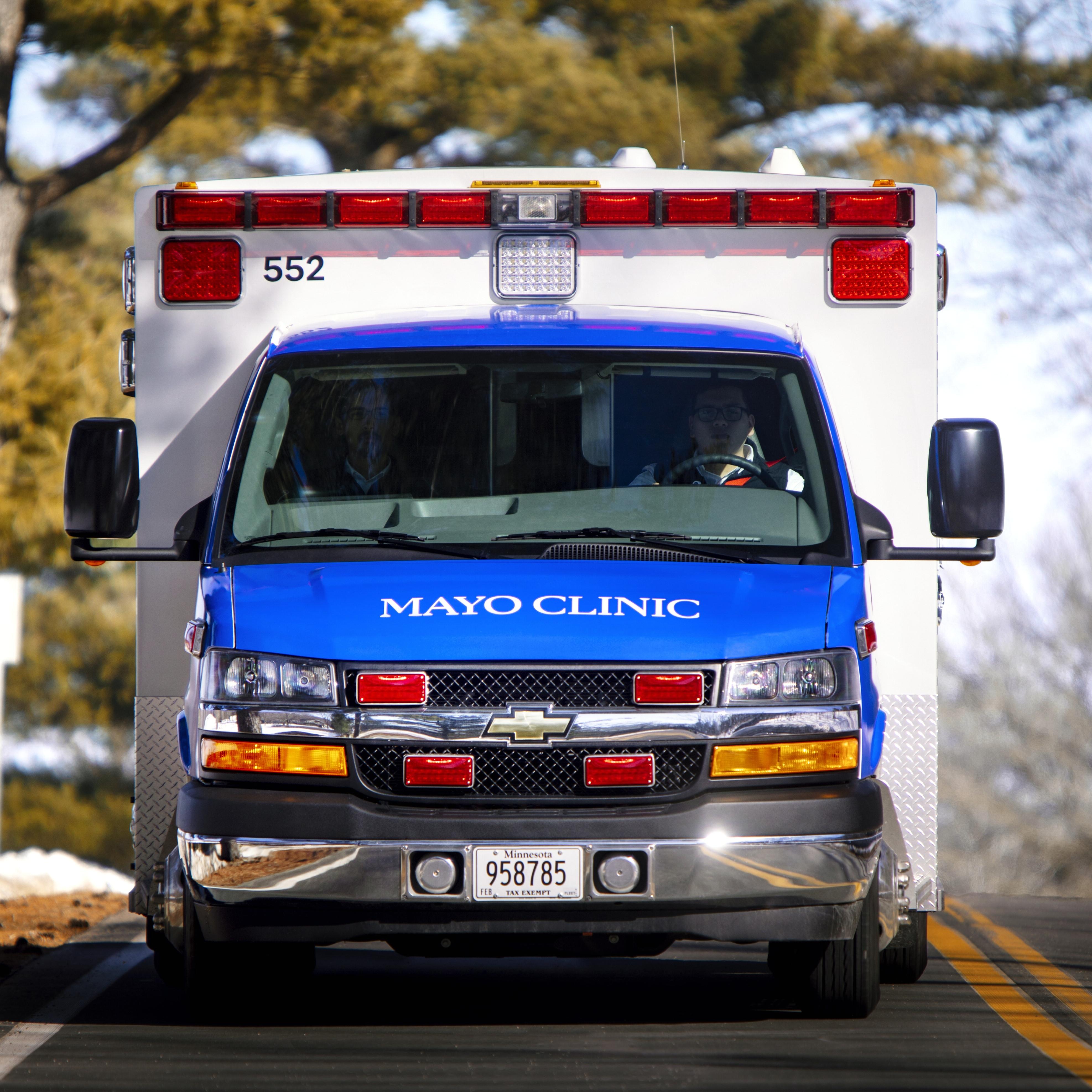 Mayo Clinic Ambulance