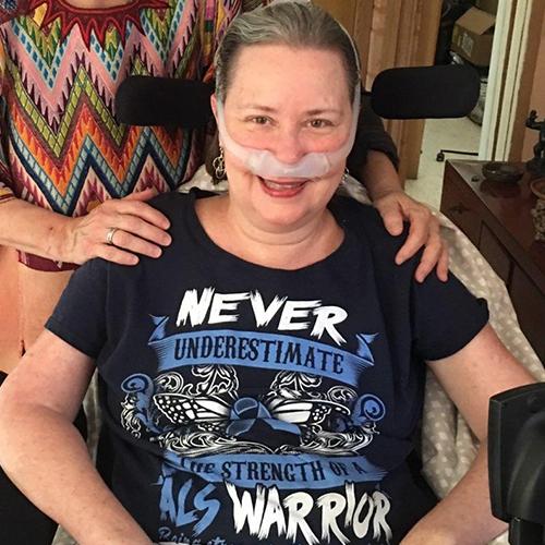 In the Loop patient Sandra Murphy-Pak