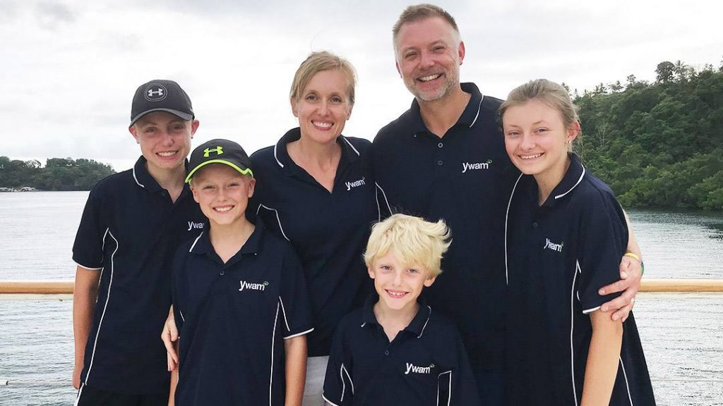 In the Loop interviewee Jenn Rodemeyer and her family