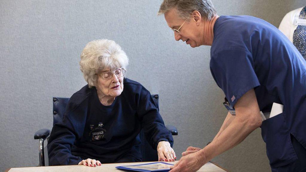 In the Loop patient Helen Chadwick