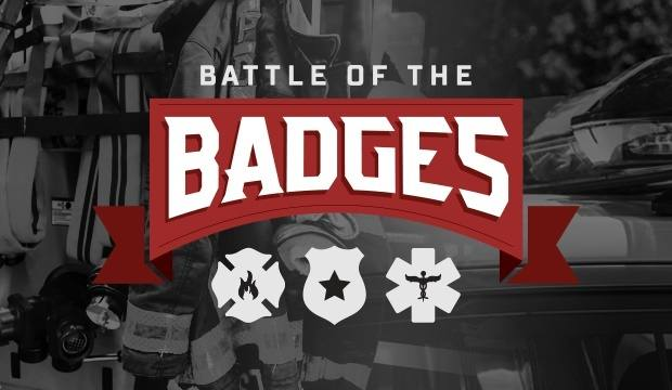 Battle of the Badges blood donation challenge logo