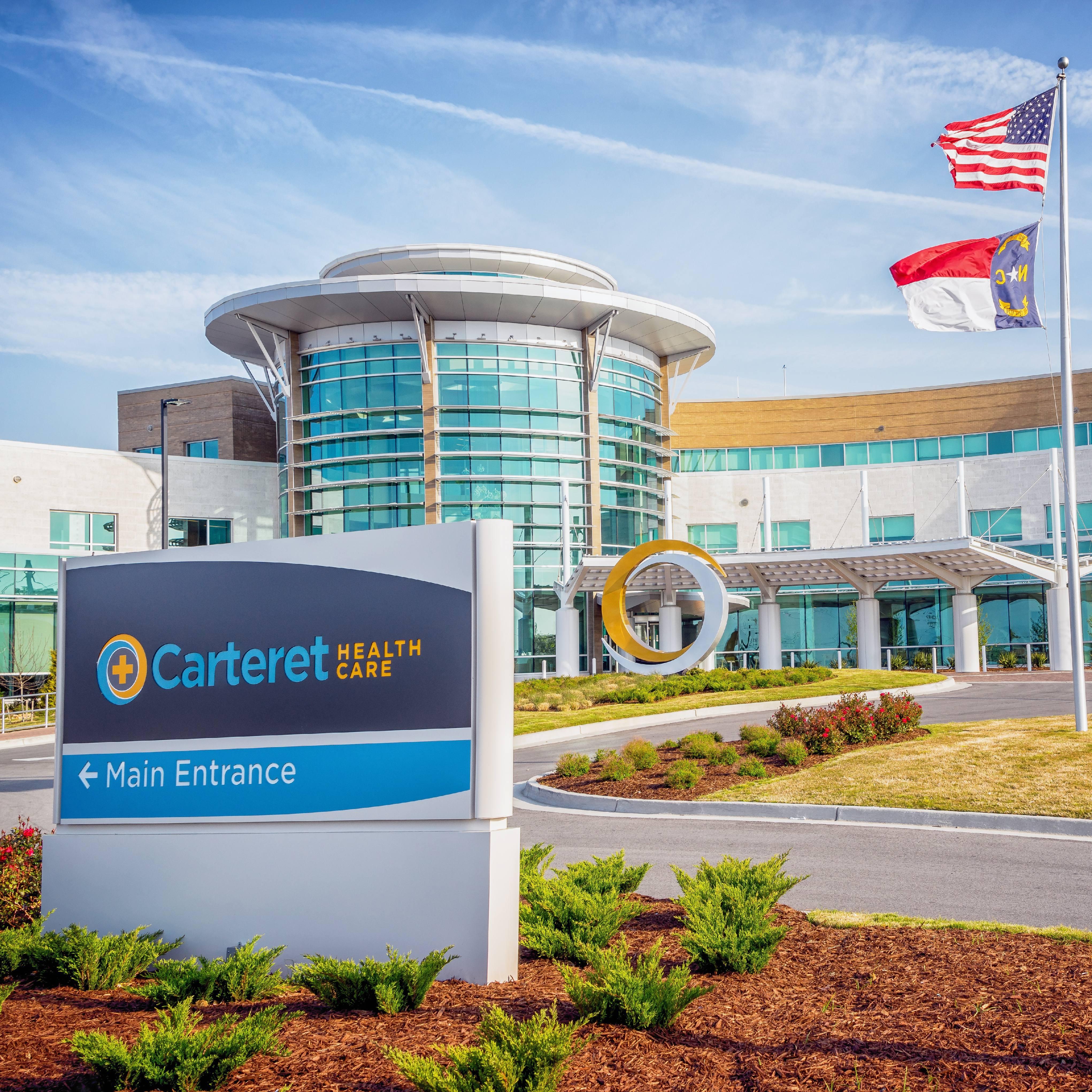 Cataret Health Care building