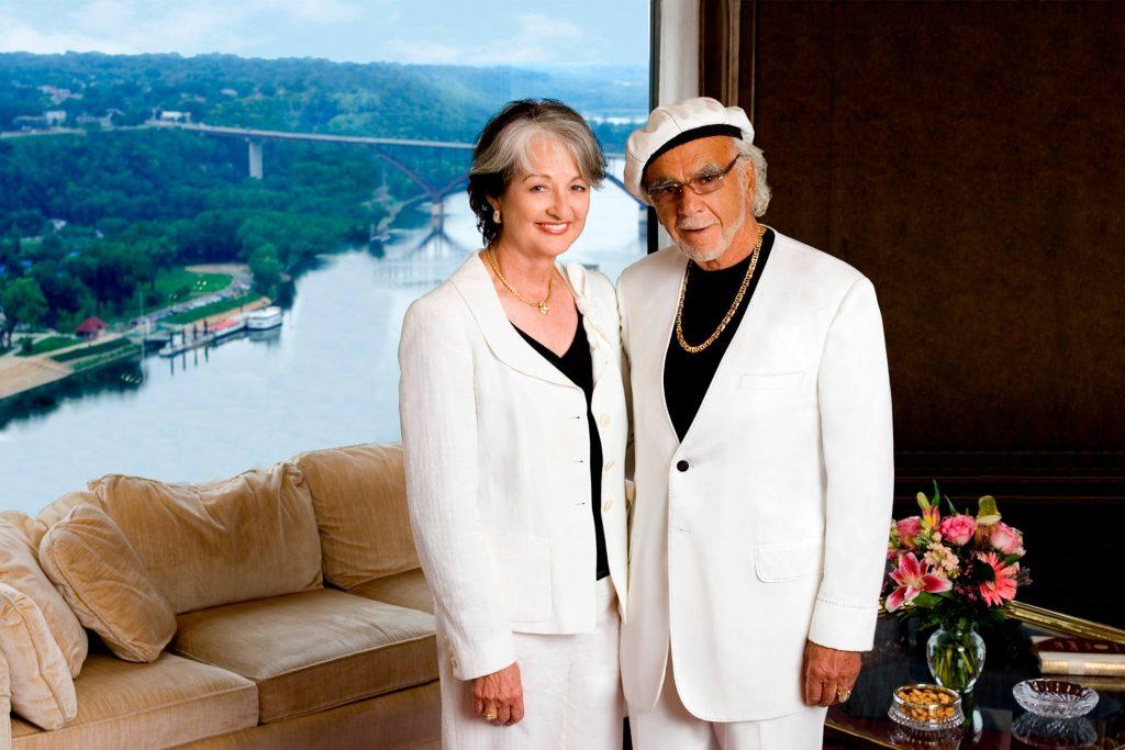Helene Houle and John Nasseff