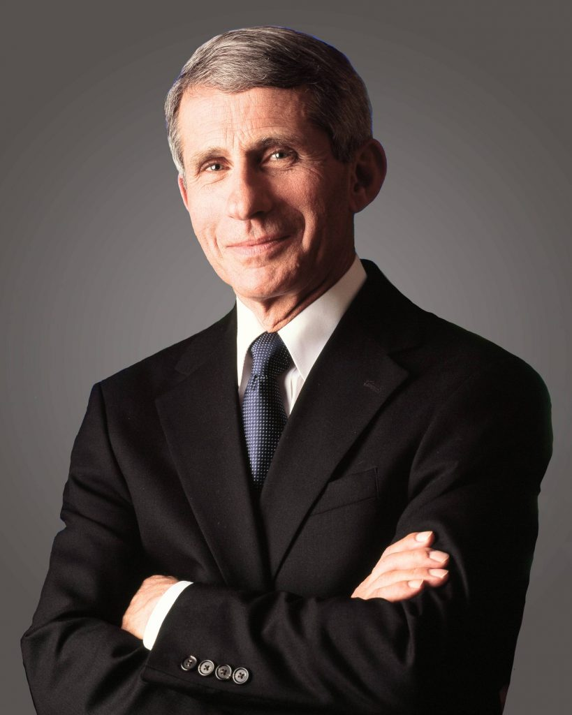 bio photo of Dr Anthony Fauci