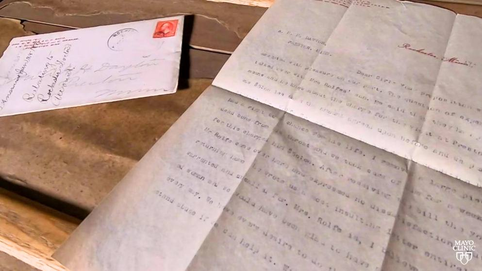 Lost Mayo letters